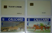 Test, maintenance and dummy Callcards