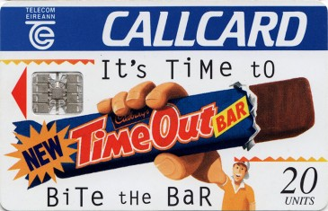 Cadbury's Time Out '95 Front