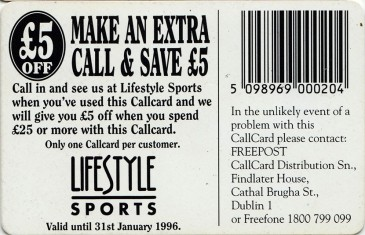 Lifestyle Sports '95 Back