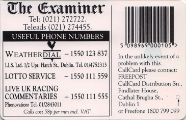 The Examiner '96 Back