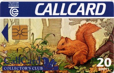CallCard Collectors Club Front