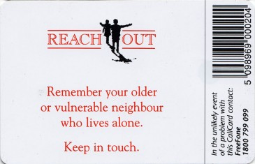 Reach Out '98 (Bewitched) Back