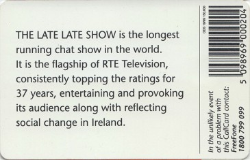 The Late Late Show (Gay Byrne) Back