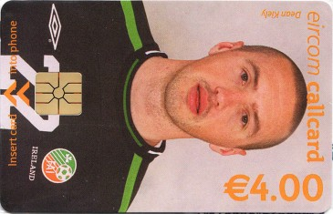 Dean Kiely - World Cup 2002 Front