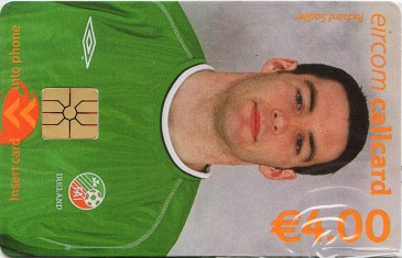 Richard Sadlier - World Cup 2002 Front