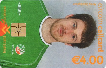 Kenny Cunningham - World Cup 2002 Front
