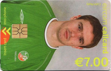 Colin Healy - World Cup 2002 Front