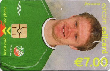 Damien Duff - World Cup 2002 Front
