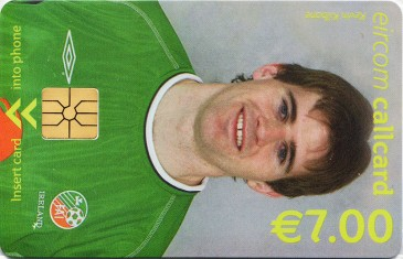 Kevin Kilbane - World Cup 2002 Front