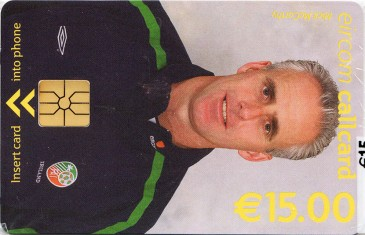 Mick McCarthy - World Cup 2002 Front