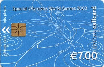 Special Olympics €7 Front
