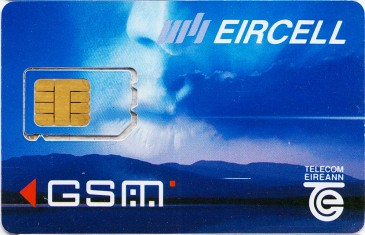 Eircell Mountain Voice GSM SIM Card 2 Front