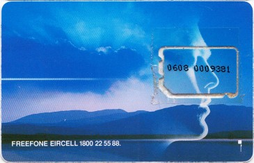 Eircell Mountain Voice GSM SIM Card 2 Back