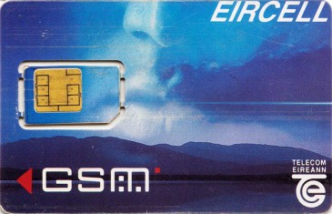 Eircell Mountain Voice GSM SIM Card 3 Front