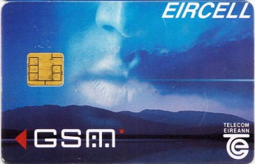 Eircell Mountain Voice GSM SIM Card 1 Front