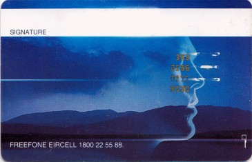 Eircell Mountain Voice GSM SIM Card 1 Back