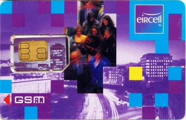 Eircell Rush Hour GSM SIM Card 2 Front