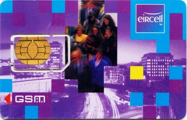 Eircell Rush Hour GSM SIM Card 3 Front