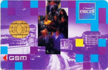 Eircell Rush Hour GSM SIM Card