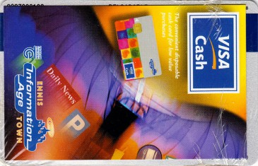 Ennis Information Age Town BOI Visa Cash card Back