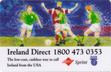 Ireland Direct World Cup Complimentary card