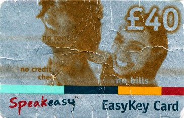Esat Digifone Speakeasy EasyKey card £40 Front