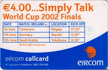 Gary Breen - World Cup 2002 Back