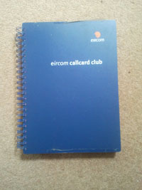 Eircom Callcard Club Album