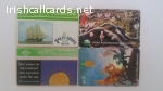 4 British Callcards