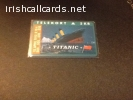 Titanic call card