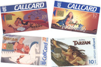 Disney Callcards